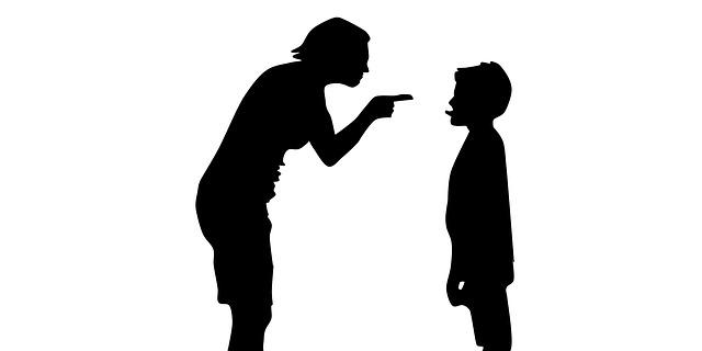 Bestrafen von Kindern