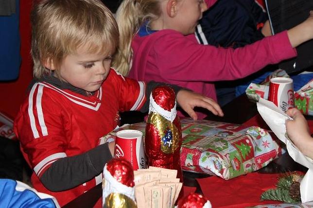 Geschenke zur Weihnachtsfeier
